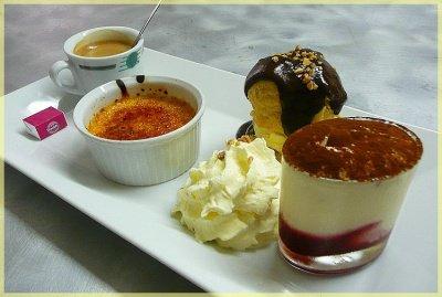 Caf gourmand dessert de resto loveogive photos club doctissimo - Recette de mini dessert gourmand ...