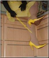 Robe jaune de soiree 6