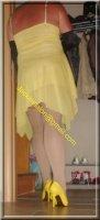 Robe jaune de soiree 9