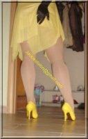 Robe jaune de soiree 10