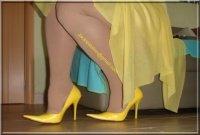Robe jaune de soiree 12