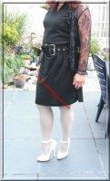 robe noir habille 1
