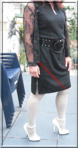 robe noir habille 4