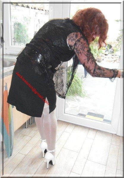robe noir habille 34