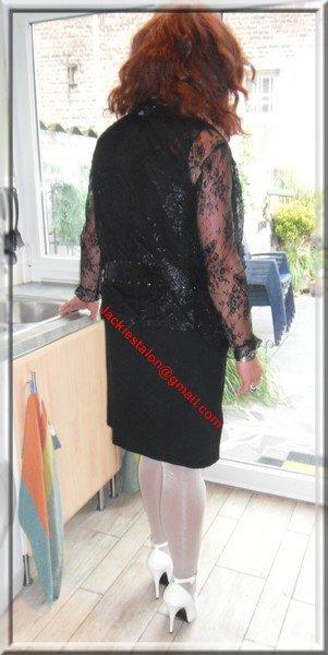 robe noir habille 35