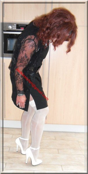 robe noir habille 48