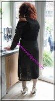 robe noir transparente 6