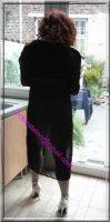 robe noir transparente 7