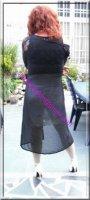 robe noir transparente 19