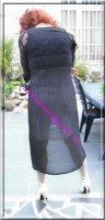 robe noir transparente 20