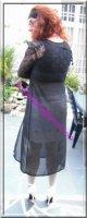 robe noir transparente 22
