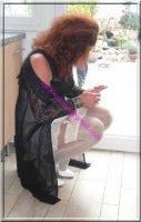 robe noir transparente 39