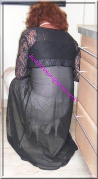 robe noir transparente 53
