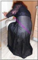 robe noir transparente 56