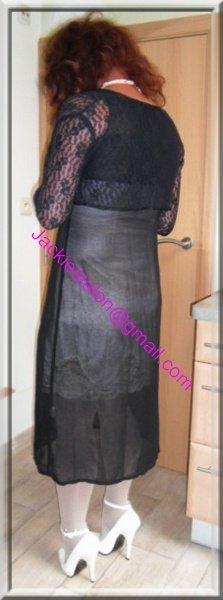 robe noir transparente 57