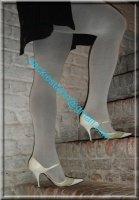 jupe noir collant gris 3