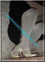 jupe noir collant gris 4