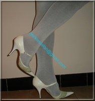 jupe noir collant gris 6