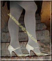 jupe noir collant gris 8