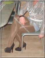 minijupe jeans 9