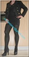 Minijupe noir guepiere noir 1