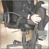 Minijupe noir guepiere noir 4