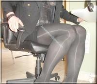 Minijupe noir guepiere noir 5
