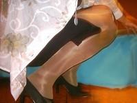 escarpins velours noirs 10 cm  robe noir a fente 2 [800x600]