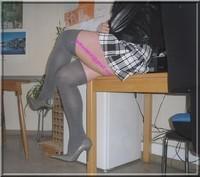 jupe careau noir et blanc 10