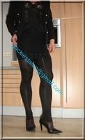 minijupe noir guepiere noir 2