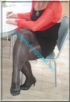 robe noir sexy bolero rouge 1