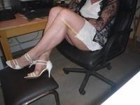 robe blanche 60