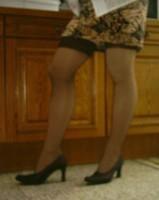 Chaussures bordeau brillante jupe leopard avec des bas11 [800x600]