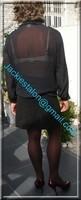 jupette et chemise noir transparente 4