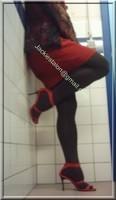 robe rouge et noir 10