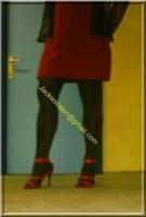robe rouge et noir 4