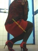robe rouge et noir 1