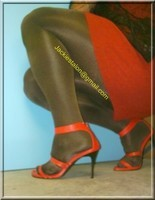 robe rouge et noir