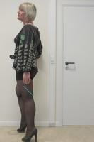 Blouse noir dessin vert SMACH 8