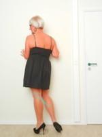 robe noir groggy by jbc 5