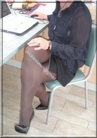 minijupe noir tirette 3
