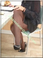 minijupe noir tirette