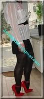 minijupe noir guepiere rouge 10