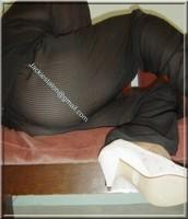 pantalon noir transparent 8
