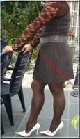 robe marron ligne 4