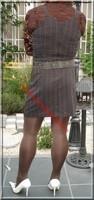 robe marron ligne 5