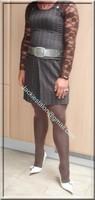 robe marron ligne 14