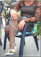 robe marron ligne 15