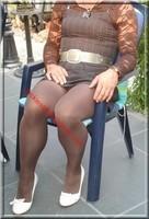 robe marron ligne 6