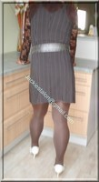 robe marron ligne 16